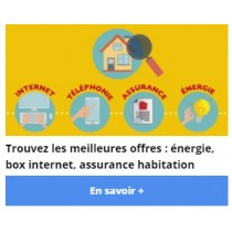 Leads changement de fournisseur d'énergie, Internet et mobile, assurance habitation